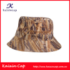 Fashion Promotional Good Quality OEM Outdoor Camo Printed Pattern Fisherman Bucket Hat With Custom Design Hot Sell On Alibaba