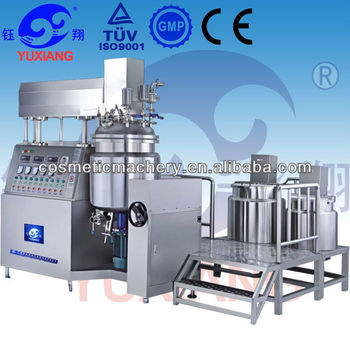 Top Sale RHJ-200L cream vacuum emulsifying mixer machine