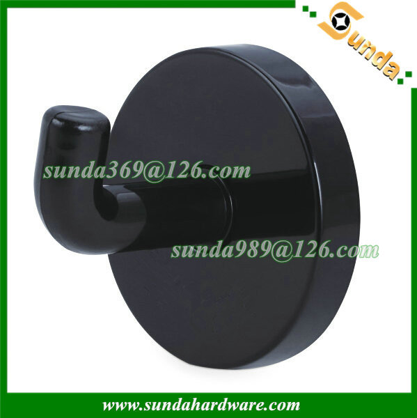 Nylon coat hook for toliet partition