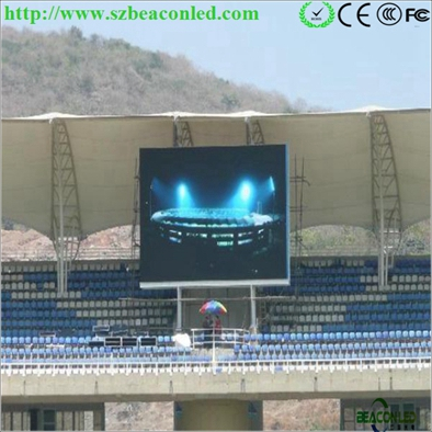 Cheap price hq P10 outdoor LED digital advertising display screen board