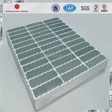 Zhenxiang factory ISO9001 gi steel grating/stainless steel grating hot sale