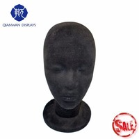 Hot sale wig foam head and shoulders mannequin for eyelash