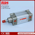 ISO643 pneumatic standard square adjustable stroke buffering cylinder