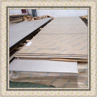 321 stainless steel plate hot rolled 3.0 - 80.0mm thickness for chemical industrial