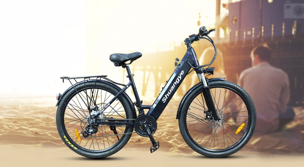 china 250W motor 26'' 28'' alloy frame electric bike