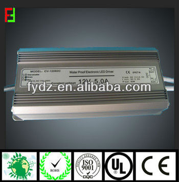 Water proof power LED supply IP67 with good quality
