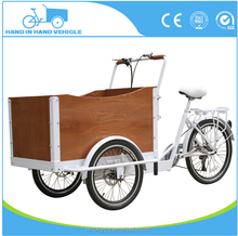 36v 250w electric cargo tricycle three wheel pedal assisted road bike