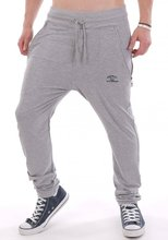 Drop Crotch Skinny Leg Sweatpants