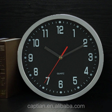 chinese funny simple noiseless plastic wall clock supplier