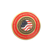 custom stars and stripes challenge coin soft enamel coin