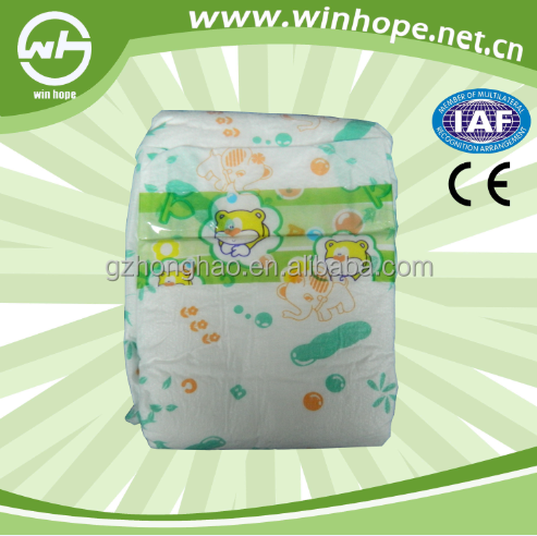 Premium Quality Sleepy Disposable Baby Diaper Made in Guangdong