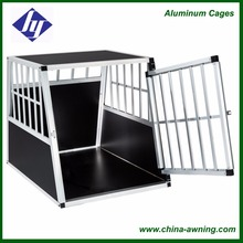 Large aluminium two doors pet dog cage