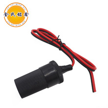 Well Priced 12v 24v car cigarette lighter adaptor cable socket power supply cord charger