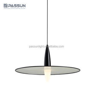 bucket hat 5W black LED acryl chandelier pendant lights 2018 newest modern pendnnt lights from PASSUN