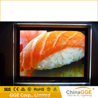 Hot sell product battery picture frame lights with high glossy acrylic panel