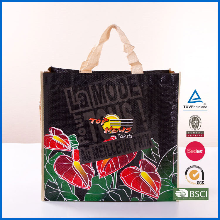 eco nonwoven shoulder sling bag,eco friendly product 80g non woven coated water-resistant polypropylene bag