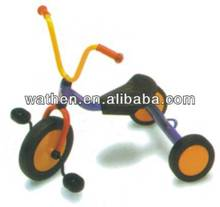 Outdoor Commercial Baby Tricycle With Game For Children