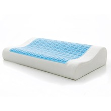 Hot Sale Standard Size Silicone Cool Bed Pillow, Best Easy Sleep Neck Support Gel Primark Memory Foam Pillow