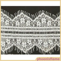 Hot sale cotton net fabric lace