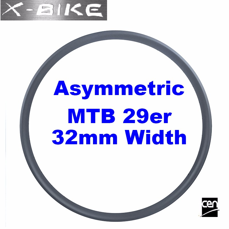 2016 new XBIKE bicycle 700c high end full carbon clincher tubuless 29er mtb rim