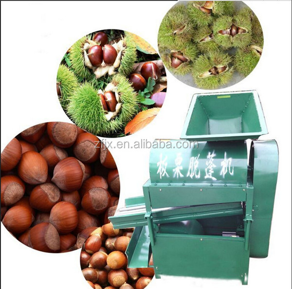 Chestnut Processing Machine For Peeling