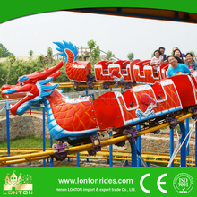 Carnival Rides For Sale Sliding Dragon Coaster Mini Roller Coaster Train