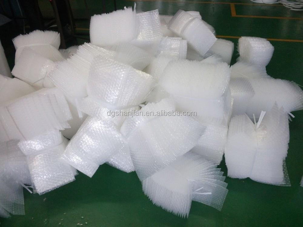 "20 packs 4x7.5 self-seal clear bubble out pouches bags 3/16"" wrap 4""x7.5"""