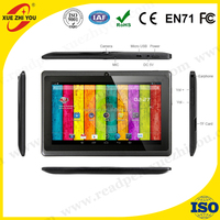 factory OEM 7 inch Allwinner A33 Tablet PC 1.3GHZ 512MB/8GB Quad-Core tablet 800*480 Capacitive