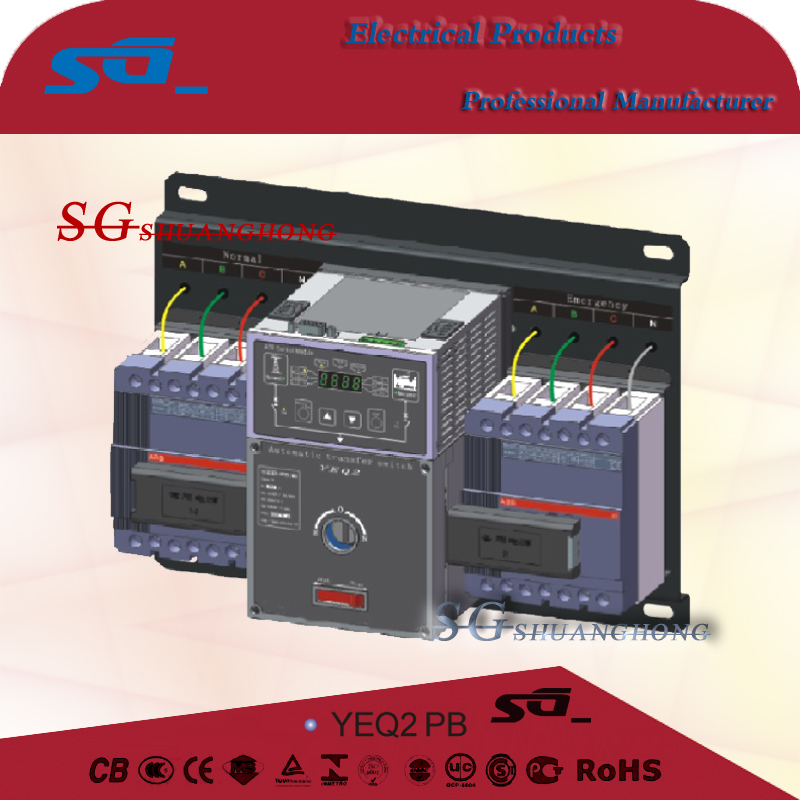 yeq2 Automatic transfer switch ATS 220V