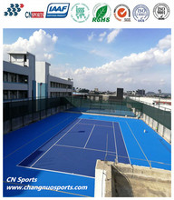 Acrylic Floor Coating for Tennis Court Surfacing with Cushion Layer