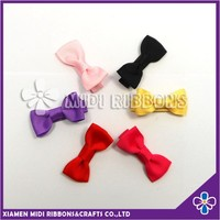 Factory Wholesale kids ribbon hair bow duck clip baby hair accessories