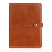 For samsung tablet stand leather case universal side flip leather bag for iPad 2 size selection