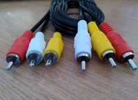 we supply Super quality db15 video convert vga cable to rca