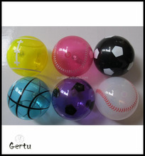 TPU sport hollow flashing balls