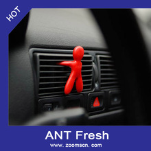 human Shape Home Car Air Freshener Perfume Orchid Fragrance Diffuser Decor