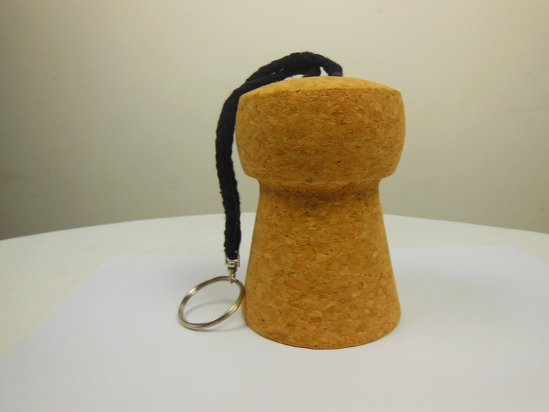 Cork Keychain For Promotional Gift