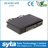 Hot Sale Mexico Atsc Modulator Free to Air Set Top TV Box Can Get the Free Sports , LIVE TV , Movie easily