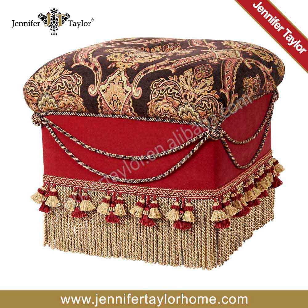 Indian Traditional Home Decorative Ottoman Handmade Pouf,Indian Comfortable Floor Cotton Cushion Ottoman