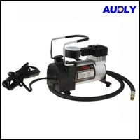 AC1001 Wholesale 12V Auto Portable Pump Tire Tyre Inflator Mini Air Compressor