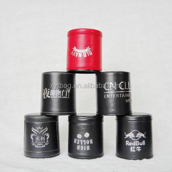 kinds of name brand poker dice cup