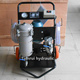 50L/min waste engine oil filter machine LYC-50C marine oil purifier