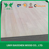 Chinese plywood supplier, Pine Edge Glued panel