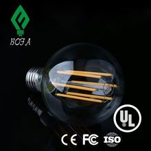 led filament light bulb globe UL/CUL 6W, led filament lamp G95 2700k sapphire ,dimmable ul e27 led filament bulb