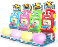 Kid coin operated game machine racing car game machine arcede game machine with capsule vendings Toy speed Q