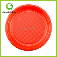 "6"" Colorful Disposable Party Plastic Fruit Plate"