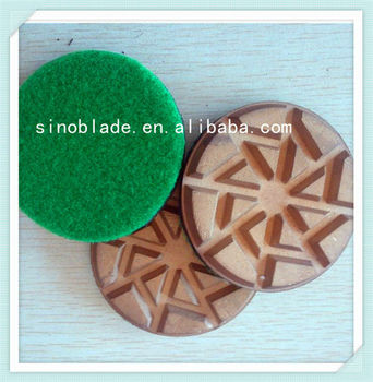 Diamond Concrete Grinding Tool floor polishing pad