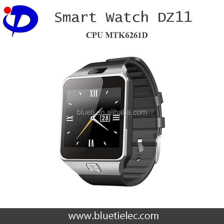 Wholesale high quality TFT LCD display camera DZ11 android smart watch phone
