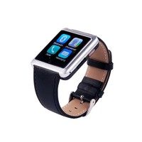 2015 New Smart Bluetooth Watch U10 with LED display/SMS Reminding/Music Player/Pedometer for IOS Android phones