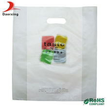 Small transparent plastic popcorn bag