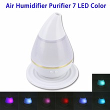 Wholesale Products 7 Led Color Changing USB Humidifier Air Mist Purifier for Home Use